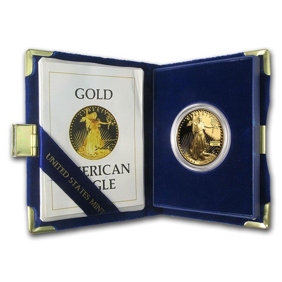 1oz proof Gold American Eagle Gold IRA
