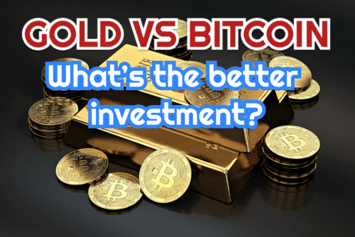 When comparing gold vs bitcoin cryptocurrency, what is the better investment?