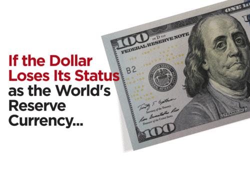 If the dollar loses its status as the world's reserve currency, how will it impact you and your standard of living?