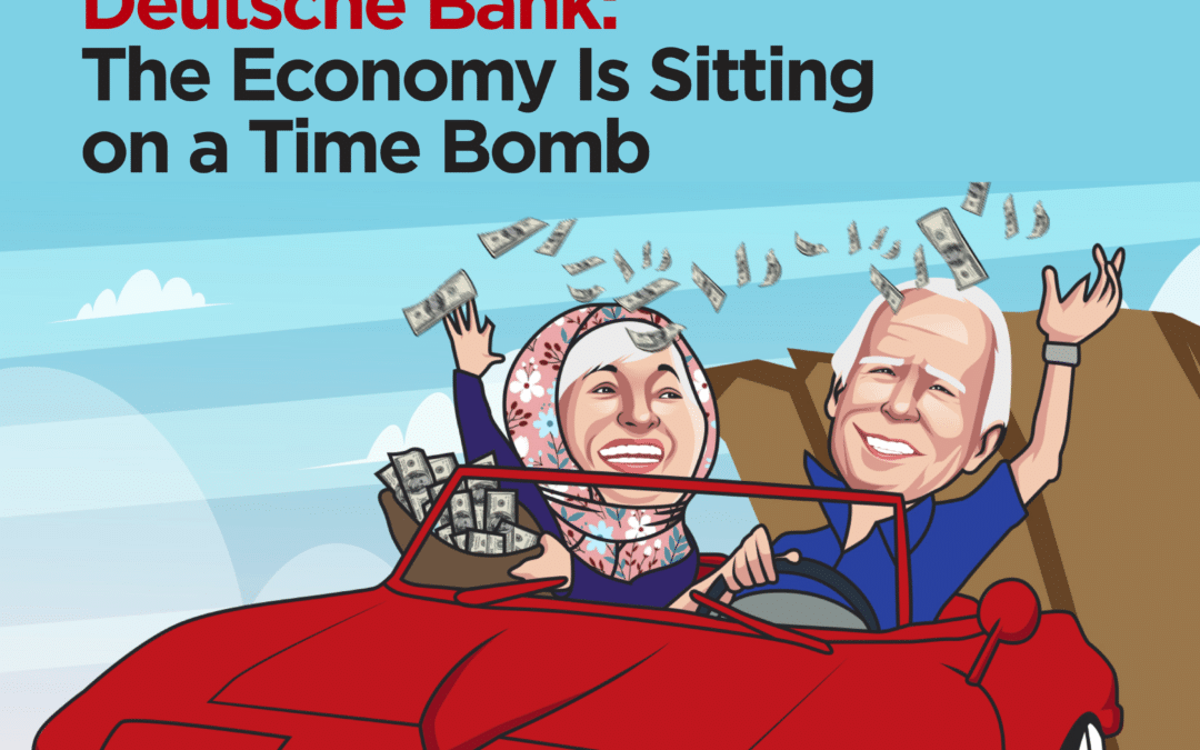 Deutsche Bank: The Economy Is Sitting on a Time Bomb